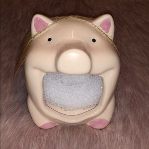 🐖 Home Essentials Pig Scrubby Holder